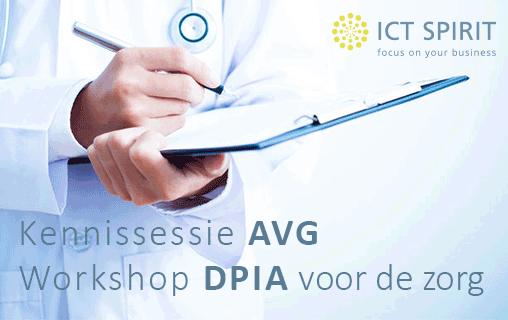 Kennissessie AVG | Workshop DPIA voor de zorg