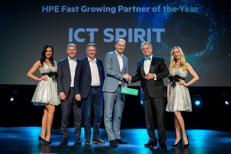 Winnaar HPE Fast Growing Partner Award 2018!