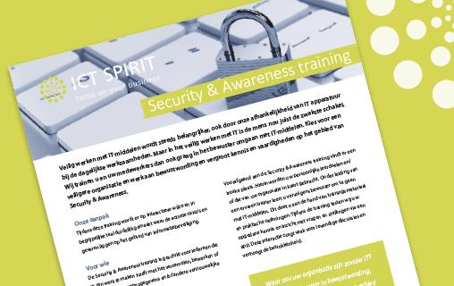 Security & Awareness training