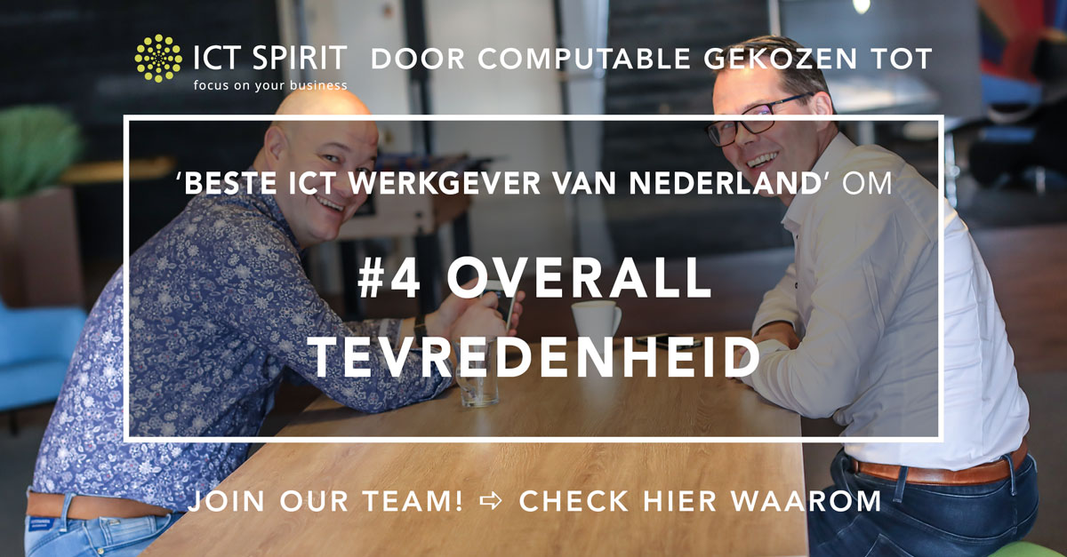 Beste-ICT-werkgever-van-Nederland-ICT-Spirit_Overall-tevredenheid
