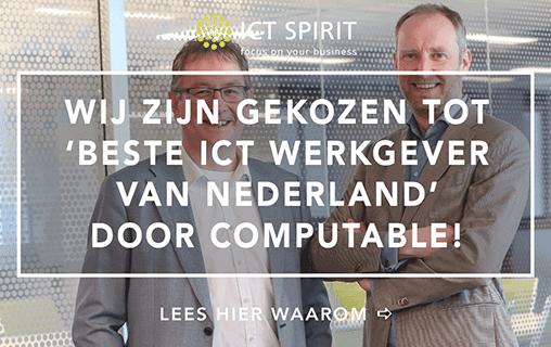 Beste ICT-werkgever van Nederland omdat…