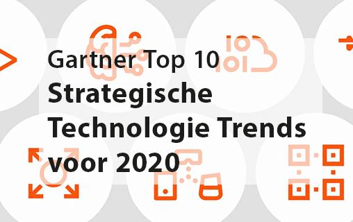 De top 10 strategische technologie trends voor 2020 volgens Gartner