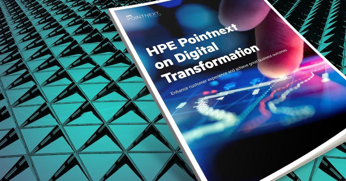HPE Pointnext-services voor digitale transformatie