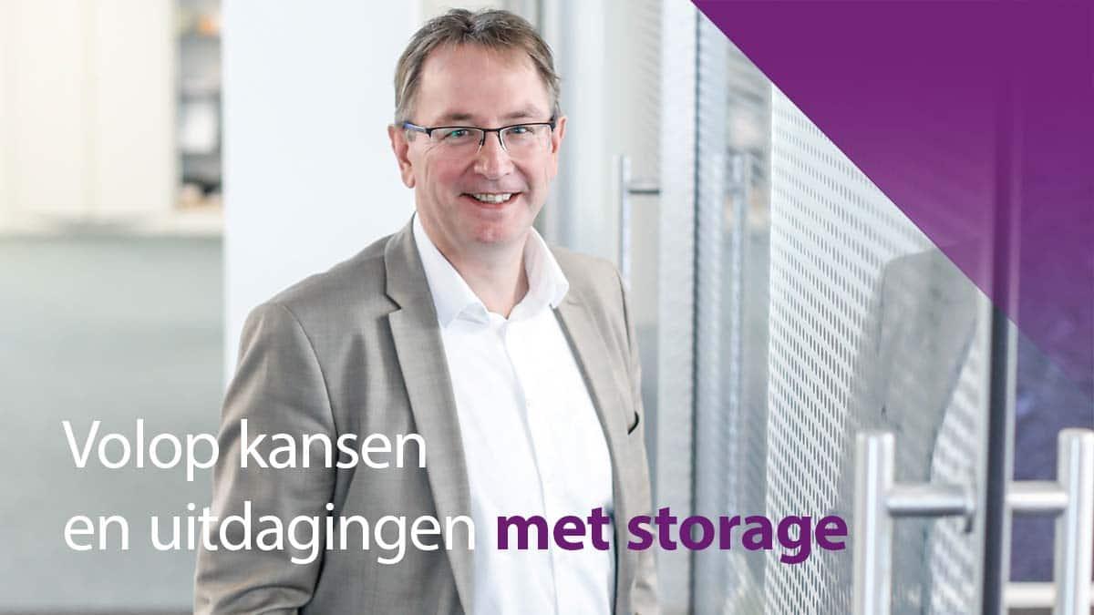 ICT Spirit ziet volop kansen en uitdagingen met storage